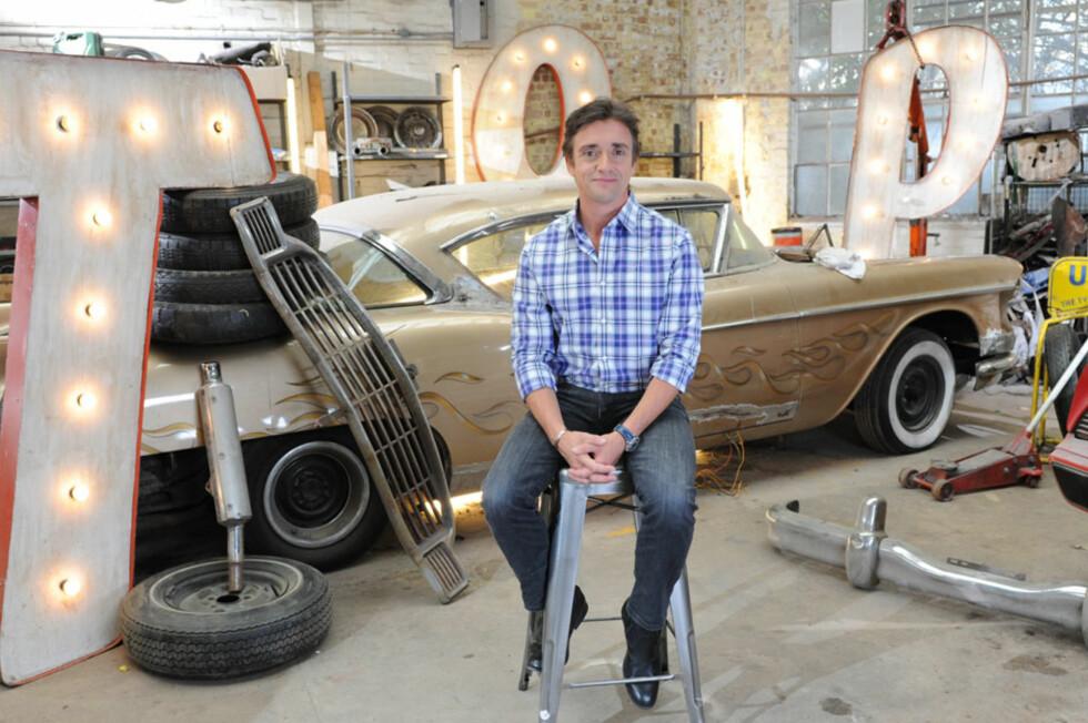 Richard Hammond foretrekker Fisker Karma blant alle elektriske biler på markedet. Foto: BBC