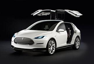 Over 100 nordmenn har forhåndsbestilt Tesla Model X