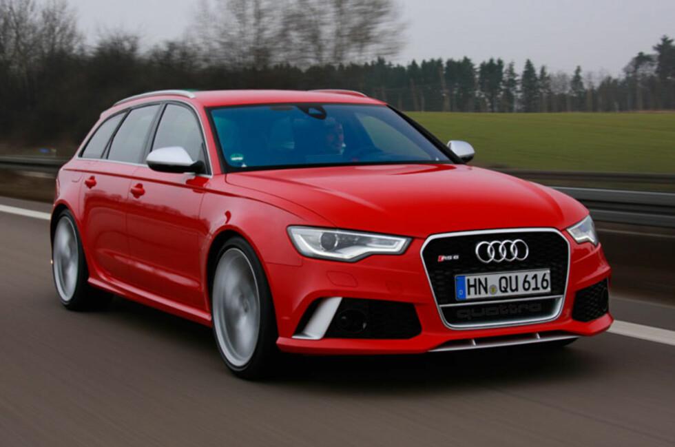 Nye Audi RS6 er en familievennlig fartsmaskin uten sidestykke. Foto: Audi