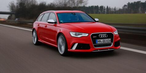 image: Nye Audi RS6: Raskest av alle