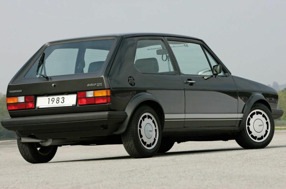 Golf II vokste 30 cm i forhold til forgjengeren og solgte i bøtter og spann. Nå blir gjenlevende eksemplarer svært attraktive på veteranmarkedet. Foto: Volkswagen