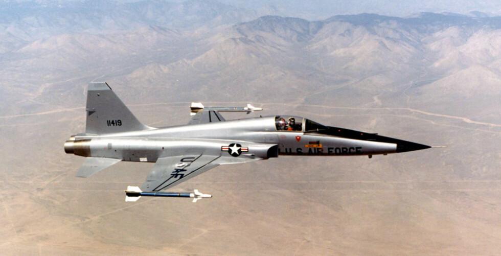 Northrop F-5 Freedom Fighter ble brukt av det norske forsvaret mellom 1964 og 1990. Totalt 105 fly bar norske flagg.