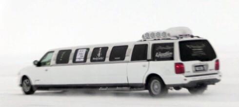 Her setter vi verdensrekord med limousin - på is!