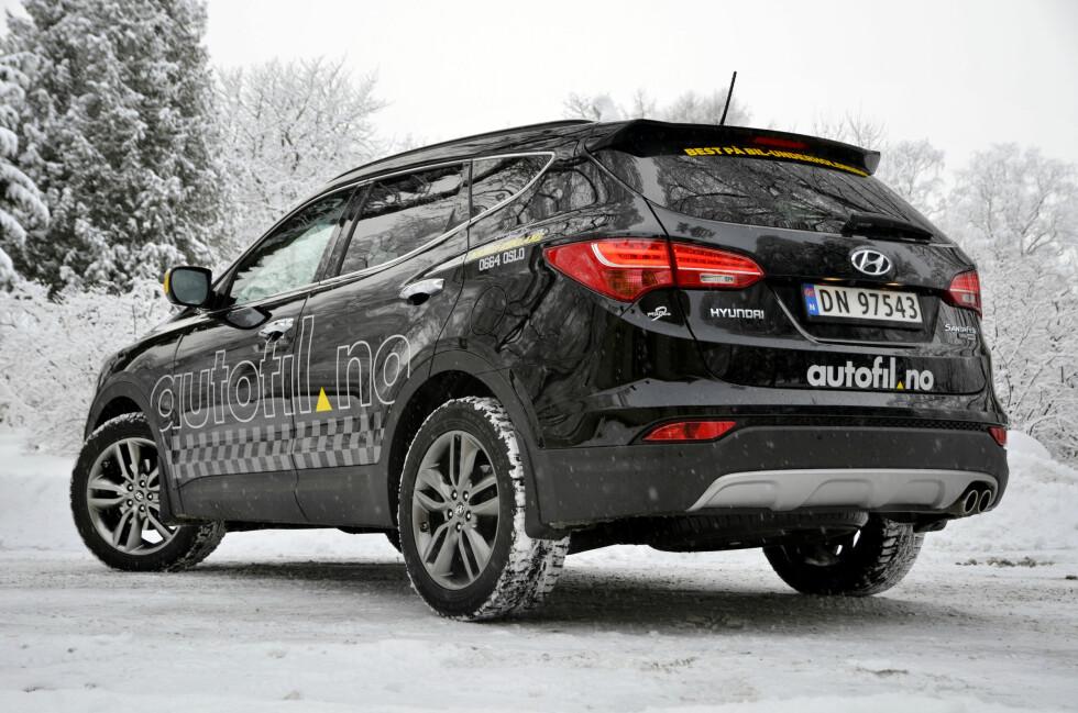 Vil Hyundais barskeste modell hamle opp med konkurrentene? Det skal vi finne ut av! Foto: Stein Inge Stølen