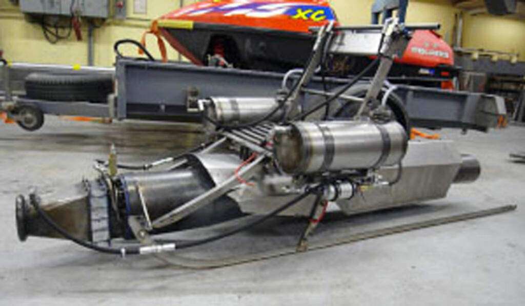 Det hele begynte med en pulsejet-motorisert spark... Foto: Svarthålet Racing