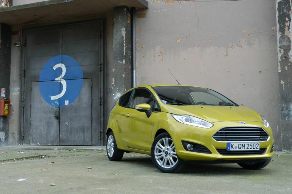 Tre sylindre er nok til å drive en småbil framover. Men er det nok til å gjøre den morsom? Foto: Stein Inge Stølen