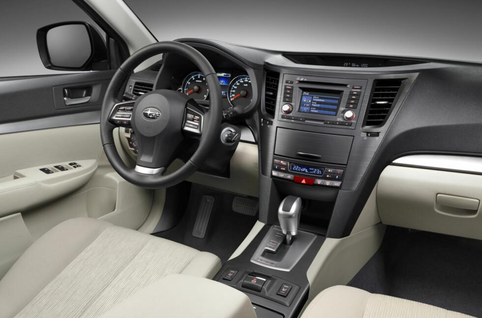 Den som venter lenge, venter på noe godt: Nå kan du kose deg med firehjulstrekk, diesel og automat i en Subaru. Foto: Subaru