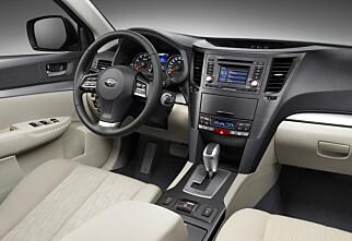 Nå får du Subaru med diesel og automat!