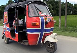 3000 kilometer i rickshaw