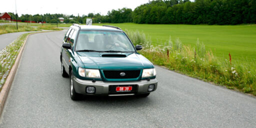 image: Subaru Forester Turbo (1999)