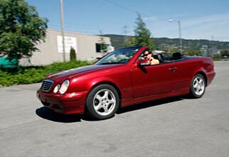 Mercedes-Benz CLK (2000)
