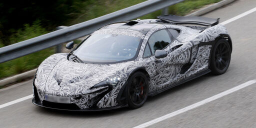 image: McLaren P1 på veien: Dette blir verdens råeste superbil