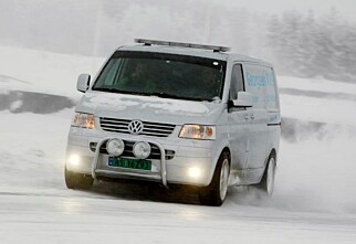 Kjør gratis med egen bil på Norges største isbane
