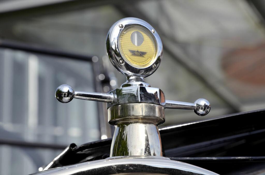 T-Ford fra 1926 eid av Jan Erik Edwardsen, med Boyce Motometer. Foto: Stein Inge Stølen