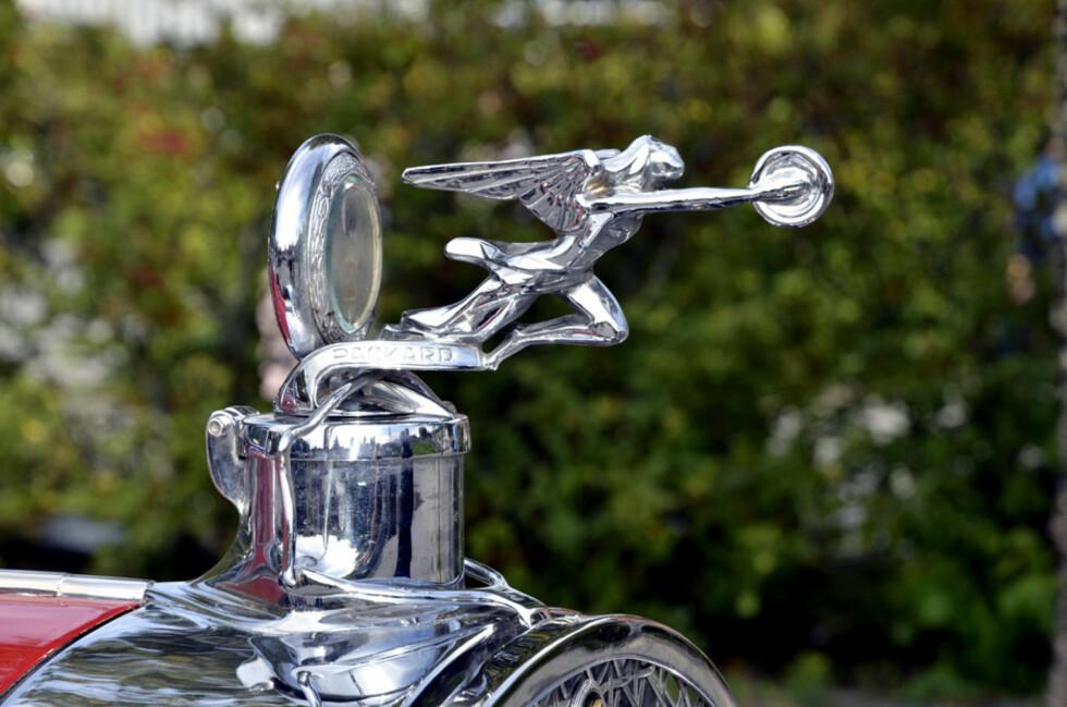 1928-modell Packard. Eier: Tore H. Larssen Foto: Stein Inge Stølen