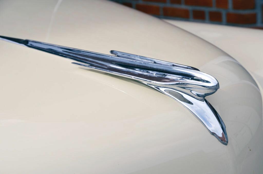 Bil: Chrysler Windsor fra 1949. Eier: Bror-Eric Hjulstad. Foto: Stein Inge Stølen