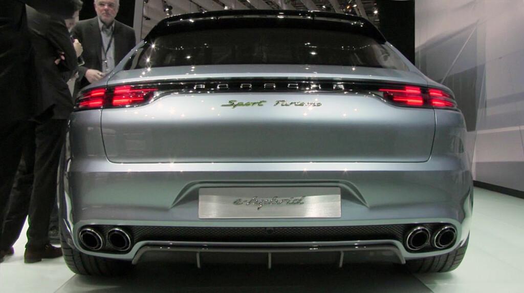 Porsche Panamera Sport Turismo: Har du sett! En Panamera som til og med Lorden liker... Foto: Stein Inge Stølen