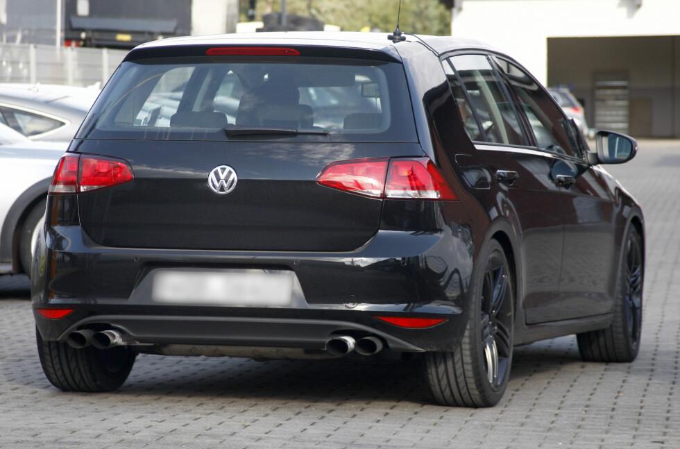 Firedobbel eksos på en Volkswagen Golf? Her lukter det krefter... Foto: Lehmann Photo Syndication