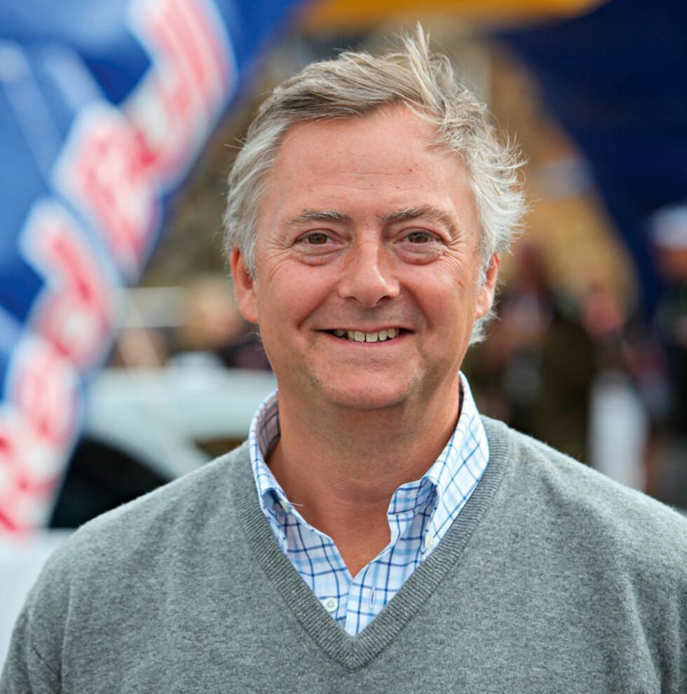 Primus motor Harald Huysman lover at festivalen skal bli et årlig arrangement. Foto: Espen Stensrud