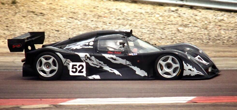 En slik Stealth B6 holder banerekorden på 1:24,369 i dag. Harald Huysman regner med at Red Bulls Formel 1-bil kan greie ned mot 1:10 hvis asfalten holder seg tørr.