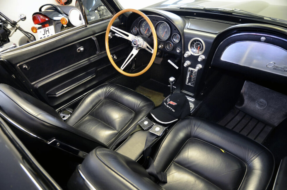 1965 Corvette C2 Stingray Cab. Foto: Stein Inge Stølen