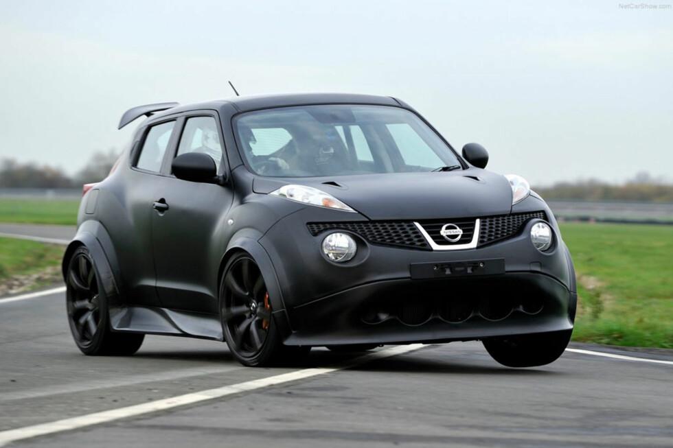 Hysteriske Nissan Juke-R skal produseres! Vi testet prototypen... Foto: Nissan