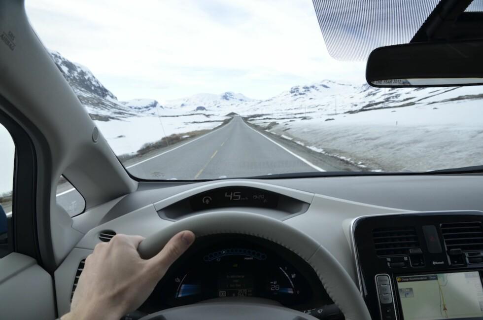 Fra Oslo til Indre Sogn på en dag i elbil - er det mulig? Foto: Stein Inge Stølen
