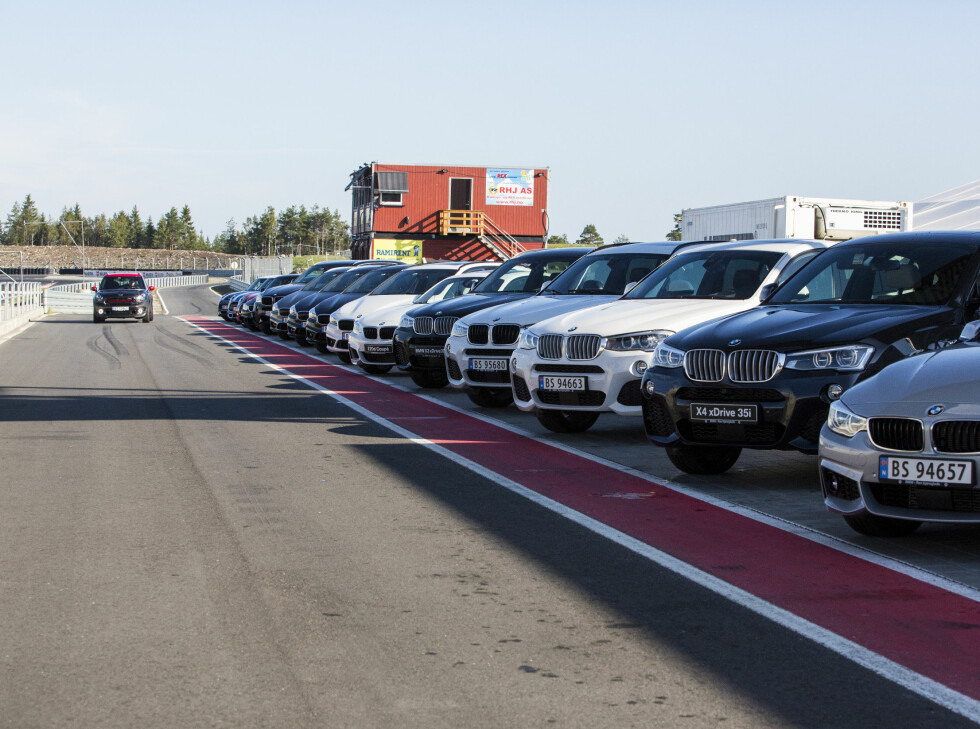 ELLE MELLE: BMW stilte med det beste de hadde å by på. Foto: ERIK FIVE