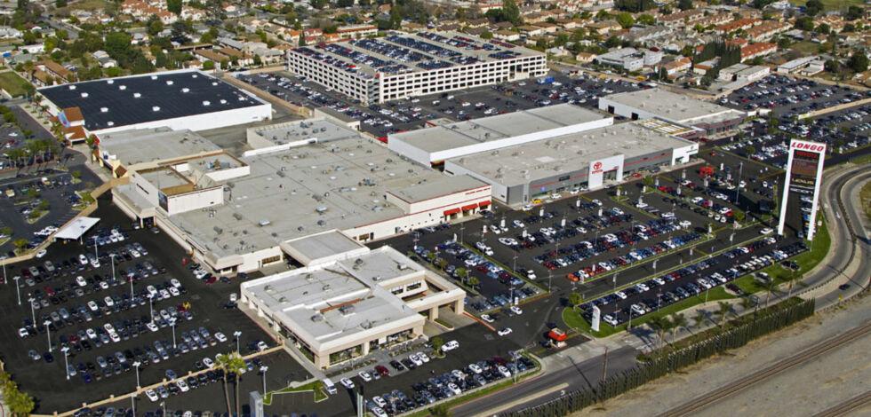 image: Denne Toyota-butikken er verdens største