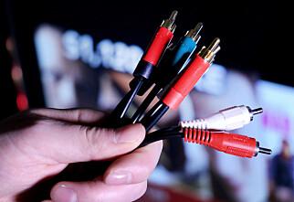 Hva gjør du når du skal koble gammel kabel i ny inngang på TV-en?