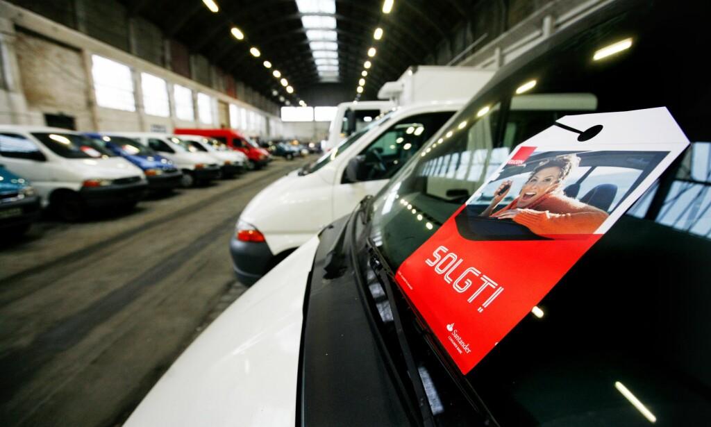 REKLAMASJON PÅ BRUKTBIL: Hva skjer når bruktbilen plutselig ikke lever opp til forventningene. Ofte kan man klage. Foto: Scanpix