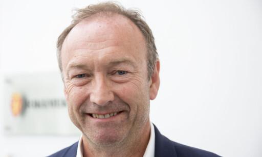 Knut Morten Johansen, informasjonssjef i SAS. Foto: Torstein Bøe / NTB scanpix