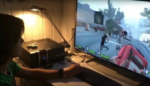 GAMING: AMD håper de nye prosessorene skal lokke gamere tilbake til AMD-baserte maskiner. Foto: Bjørn Eirik Loftås
