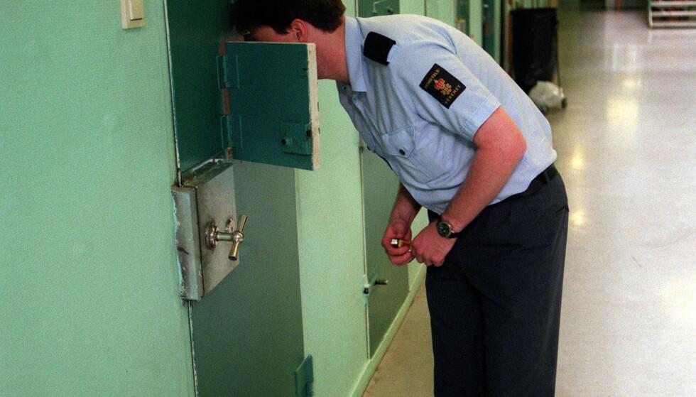 <strong>FENGSELSBETJENT:</strong> Utdanningen til fengselsbetjent går over to år, og det er ett års plikttjeneste. Begynnerlønn som aspirant i studietiden er cirka 300.000 per år. Foto: NTB Scanpix