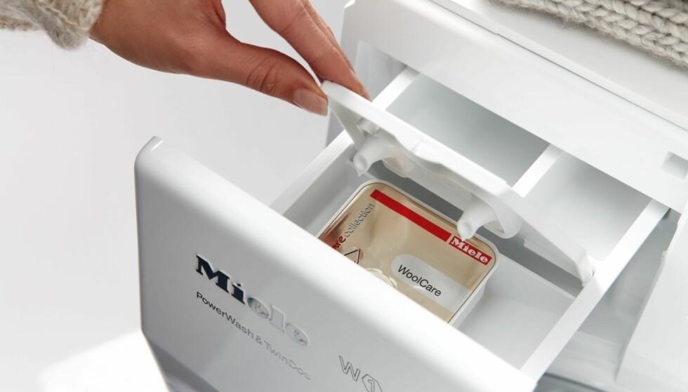 VINNERMERKET: Tyske Miele gjør rent bord både når det gjelder vaskemaskiner, tørketromler og oppvaskmaskiner. Foto: Miele/Expert