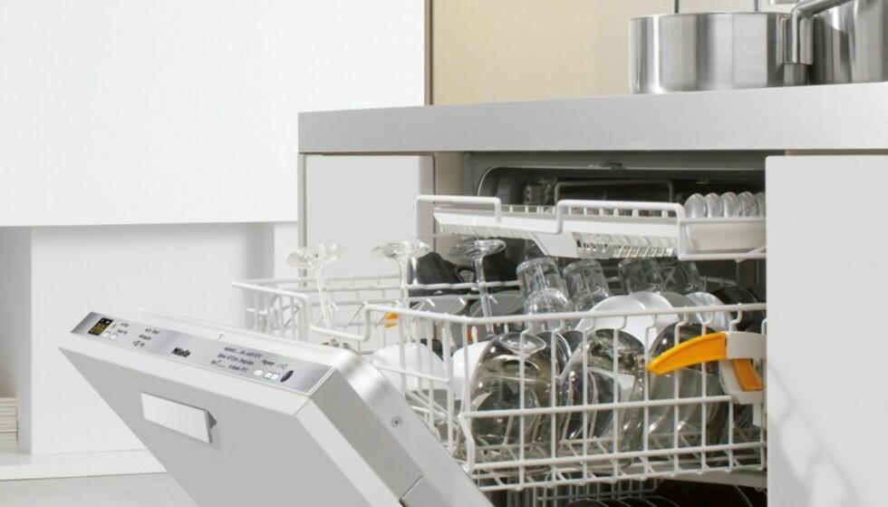 GÅR OG GÅR: Mieles oppvaskamaskiner kommer godt ut i langtidstestene. Foto: Miele