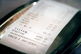 TOTALT: Vi betalte 550 kroner og 920 kroner for treretters middag på restaurant i Puerto Rico. Begge restaurantene hadde god mat, og vi ble mette. Foto: Ole Petter Baugerød Stokke