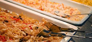 image: Mat inkludert? Vi ble ikke imponert over buffeten på All inclusive på Gran Canaria