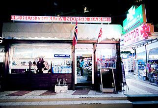 I «lysløypa» på Playa del Inglés er 90 prosent av kundene fra Norge