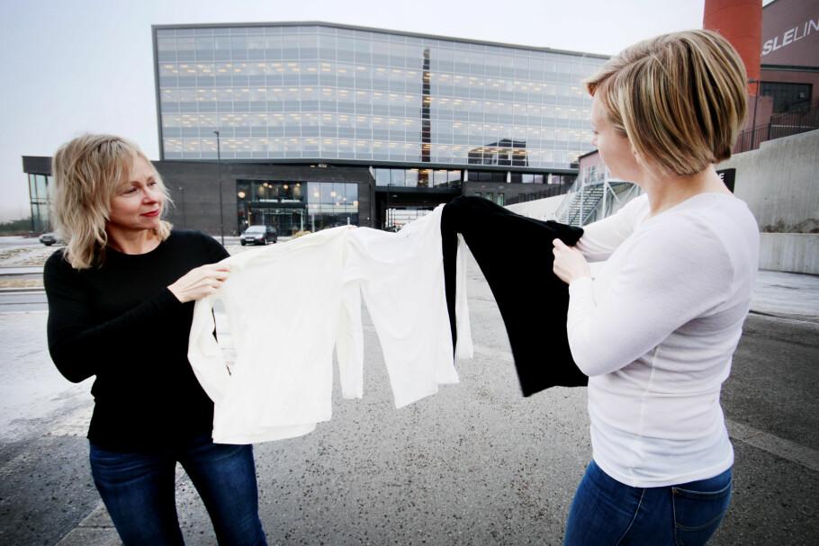 LEI AV Å FRYSE: Vi har testet ulltrøyer til hverdagsbruk, men ikke alle varmer like godt. Foto: Ole Petter Baugerød Stokke