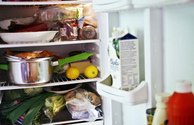 image: På dette bildet finner du minst tre kjøleskaptabber