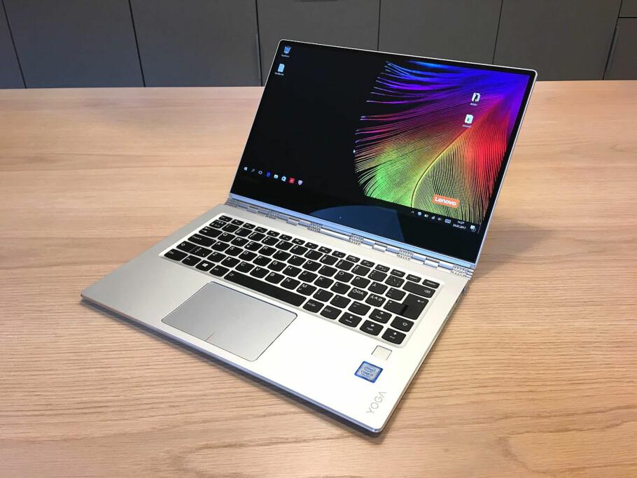 PENESTE YOGAEN NOENSINNE?: Lenovo Yoga 910 er kraftig oppgradert fra 900. Vi har testet den og trillet terningkast 5. Foto: Bjørn Eirik Loftås