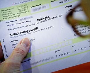 image: Har du også fått denne meldingen på NRK-lisensen?