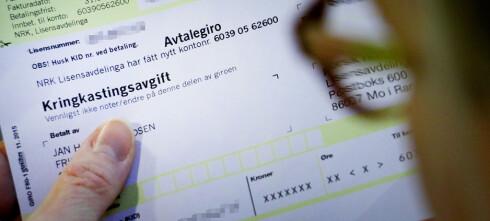 Har du også fått denne meldingen på NRK-lisensen?