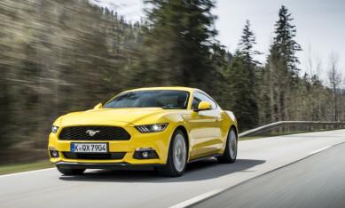 TYSK SPORTSBILSUKSESS: Ford Mustang har klart det mesterstykket å selge bedre enn Porsche 911 i Tyskland. Foto: Ford