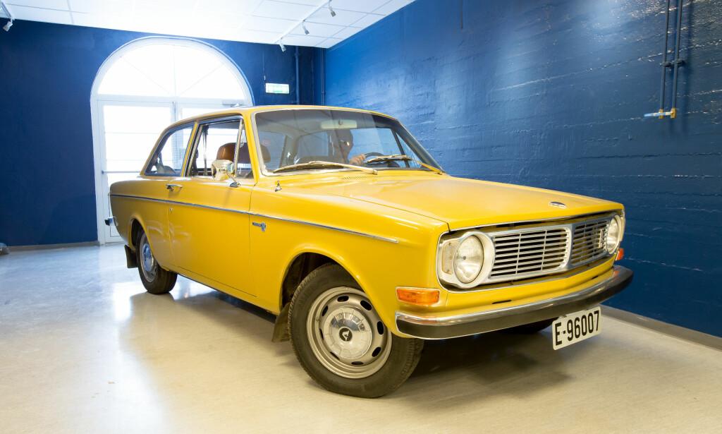 VETERAN: Volvo 142 var første ikke-norske bil med støtfangere fra Norge. Foto: Kasper van Wallinga