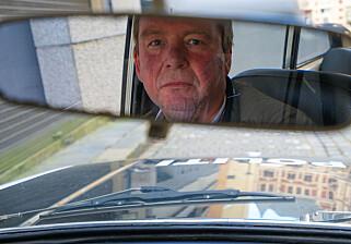 POLITIPENSJONIST: Richard Kristensen. Foto: Paal Kvamme