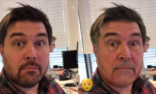 image: Hysterisk selfie-app gjør deg til en gammel mann