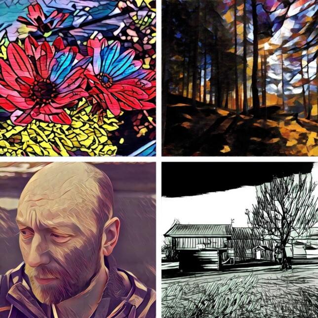 PRISMA: Foto-appen Prisma har høstet mange lovord med sine helt spesielle bildefiltre. Foto: Pål Joakim Pollen