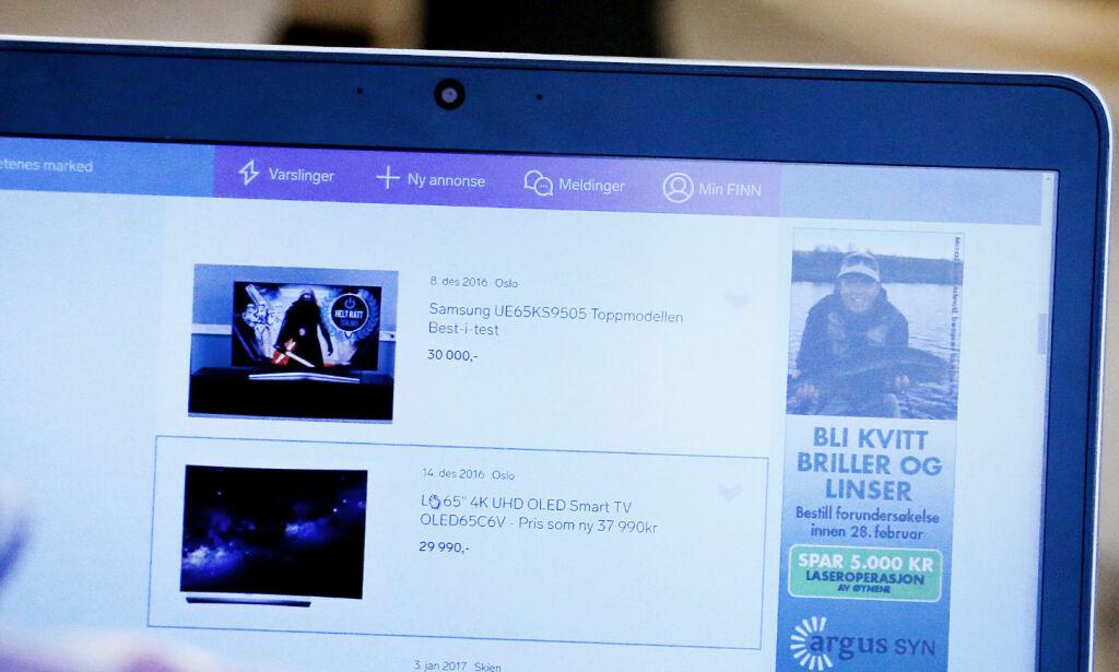 image: «Kuppet» på Finn.no koster mer enn ny TV i butikk